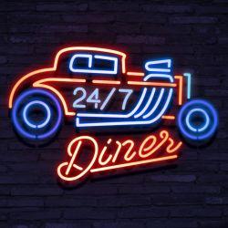 Neon 24/7 Diner