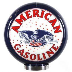 Globo di pompa benzina American Gasoline