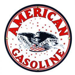 Targhe di latta American Gasoline