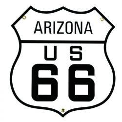 Targhe di latta Arizona US 66