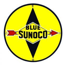 Targhe di latta Blue Sunoco