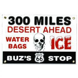 Targhe di latta Buz's Stop