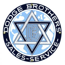Targhe di latta Dodge Brothers