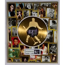 "LP placcato dorato - Elvis Presley ""75th birthday"""