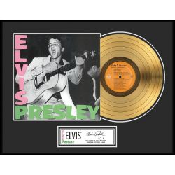 "LP placcato dorato - Elvis Presley ""Gold LP LE 1000"""
