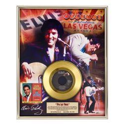 """LP placcato dorato - Elvis Presley """"Viva Las Vegas"""""""