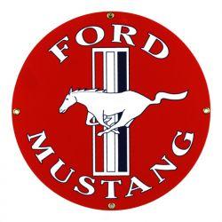 Targhe di latta Ford Mustang