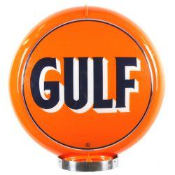 Globo di pompa benzina Early Gulf Logo