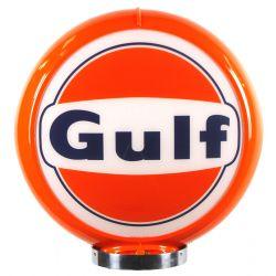Globo di pompa benzina Gulf Logo