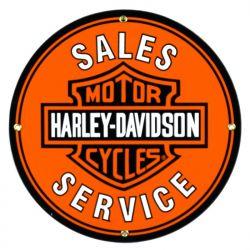 Targhe di latta Harley Davidson