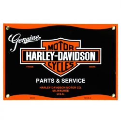 Targhe di latta Harley Parts