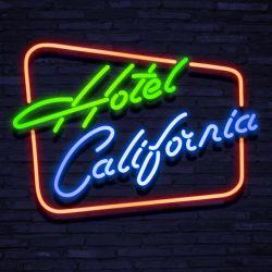 Neon HOTEL CALIFORNIA