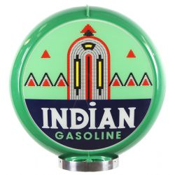Globo di pompa benzina Indian Gasoline