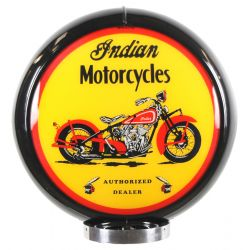 Globo di pompa benzina Indian Motorcycles Black