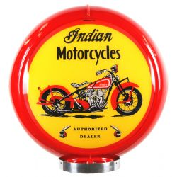 Globo di pompa benzina Indian Motorcycles Red