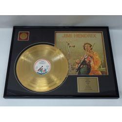 """LP placcato dorato - Jimi Hendrix """"Experience"""""""
