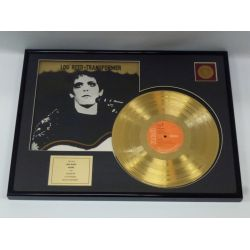 "LP placcato dorato - Lou Reed  ""Transformer"""
