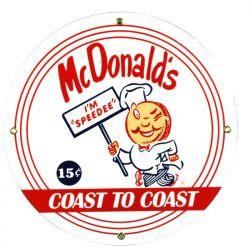 Targhe di latta McDonalds