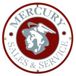Targhe di latta Mercury