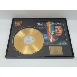 "LP placcato dorato - Michael Jackson ""Smooth Criminal"""