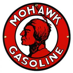 Targhe di latta Mohawk Gasoline