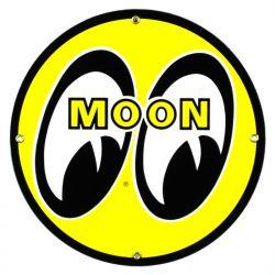 Targhe di latta Moon