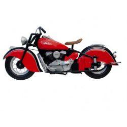 Retro Motorbike Wall Decor