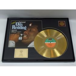 "LP placcato dorato - Otis Redding ""The Best Of Otis Redding"""