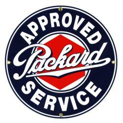 Targhe di latta Packard Service