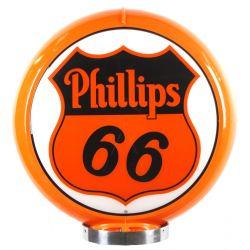 Globo di pompa benzina Phillips 66
