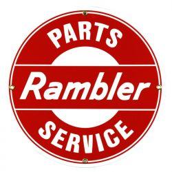 Targhe di latta Rambler Parts Service