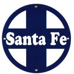 Targhe di latta Santa Fe