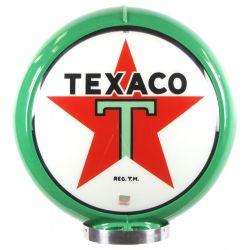 Globo di pompa benzina Texaco Green