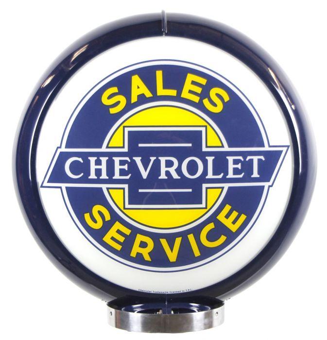 Globo di pompa benzina Chevrolet Sales Service