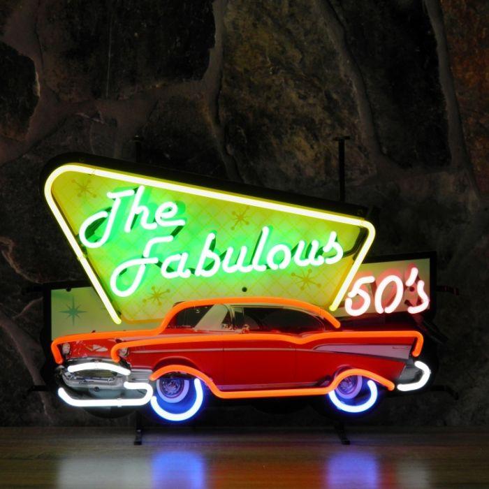 Fabulous 50's neon