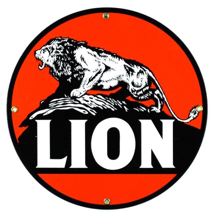 Targhe di latta Lion