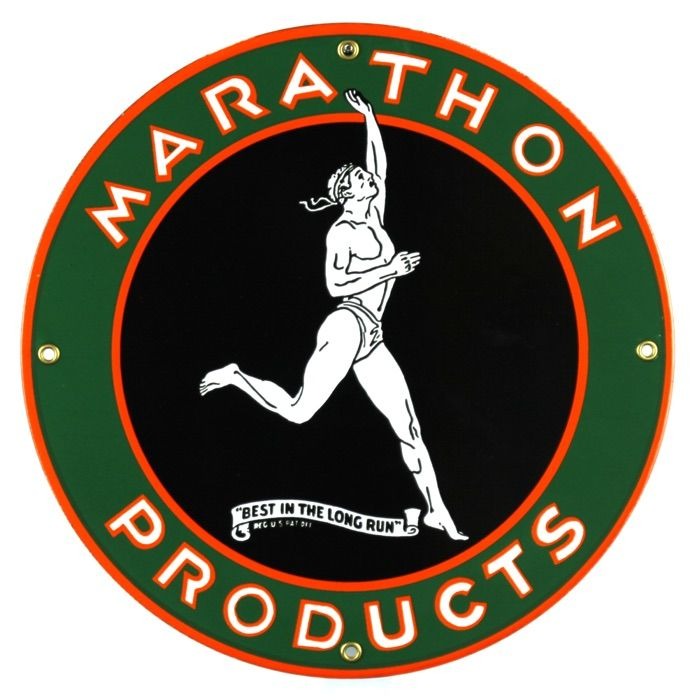 Targhe di latta Marathon Products