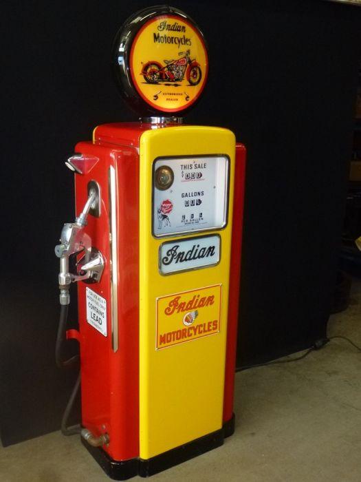 Wayne 100 - Indian Pompa Benzina