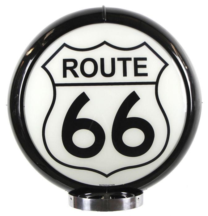 Globo di pompa benzina Route 66