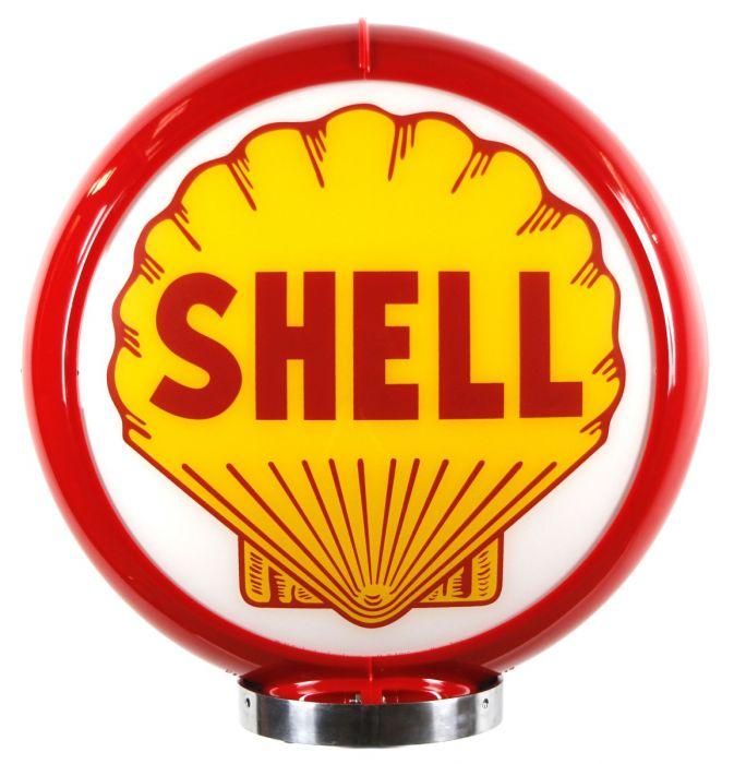 Globo di pompa benzina Shell