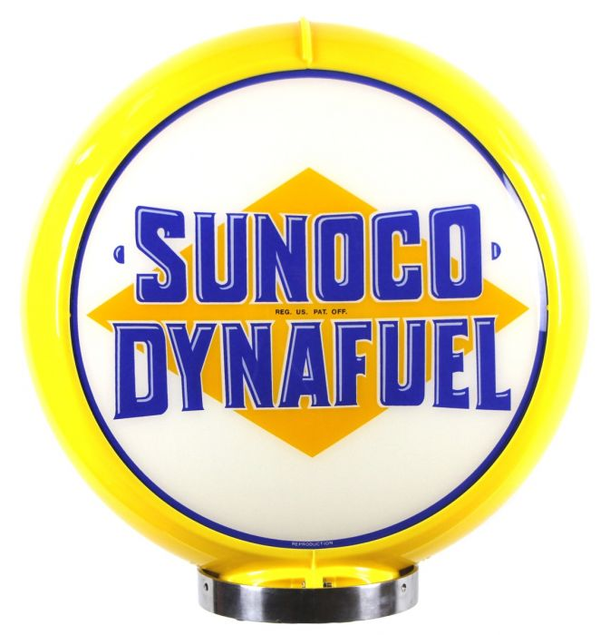 Globo di pompa benzina Sunoco Dynafuel