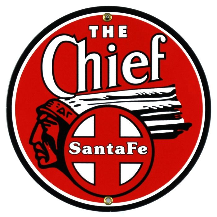 Targhe di latta The Chief